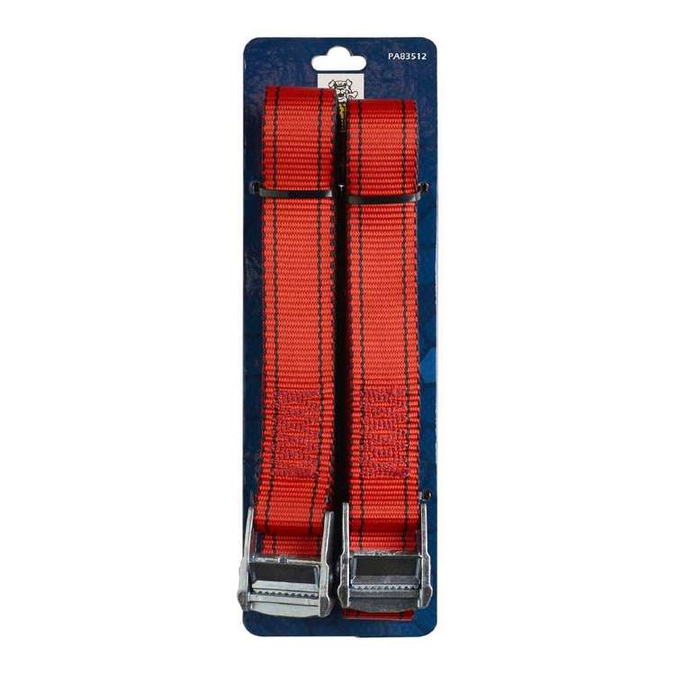 Gripwell 4 Metre / 550 kg Cambuckle Tie Down 2 Pack