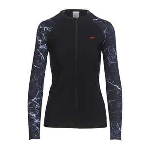 Speedo Women's Endurance 10 Zip Up Long Sleeve Sun Top