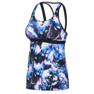 Speedo Women's Virtual Bloom Tank Top