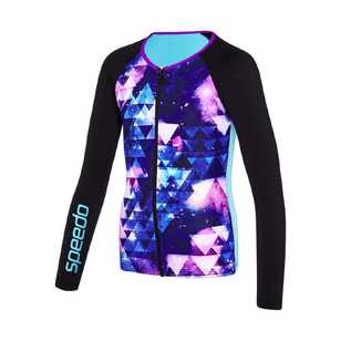 Speedo Girl's Long Sleeve Rashie