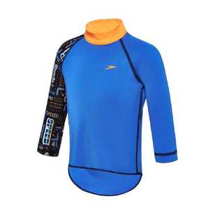 Speedo Toddler Boy's Arcade Type Long Sleeve Sun Top