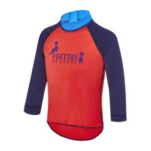 Speedo Toddler Boy's Logo Long Sleeve Sun Top