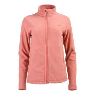 Mountain Designs Womens Ruby Full Zip Fleece Jacket Rose Multi