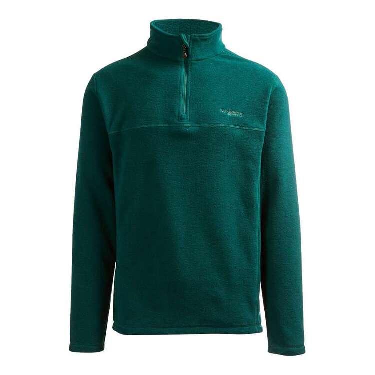 Mountain Designs Men's Bruck Quarter Zip Fleece Jacket