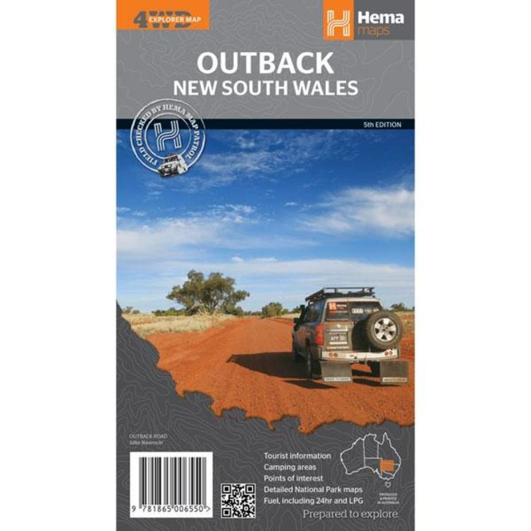 Hema Outback New South Wales