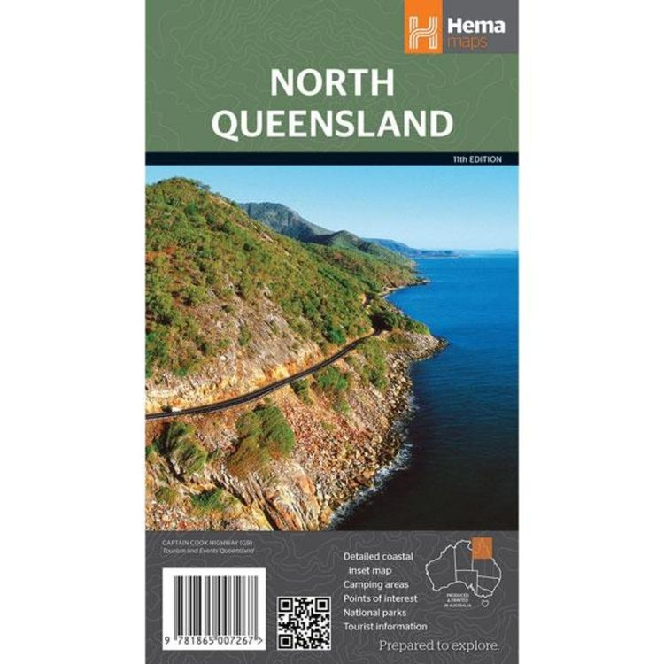 Hema North Queensland Map