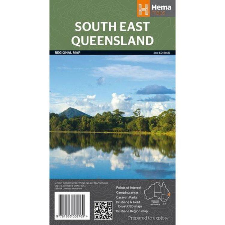 Hema South East Queensland Map