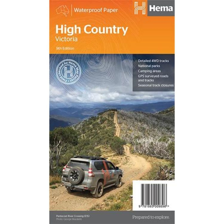 Hema The High Country Victoria Map