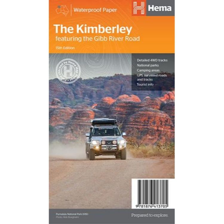 Hema The Kimberley Map