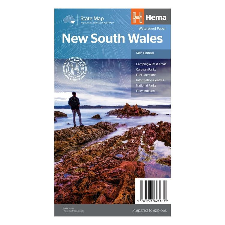 Hema New South Wales State Map