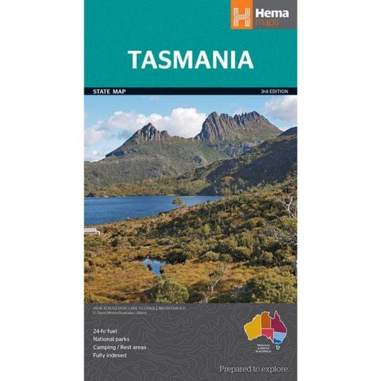 Hema Tasmania State Map