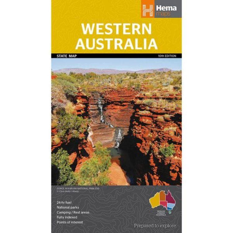 Hema Western Australia State Map