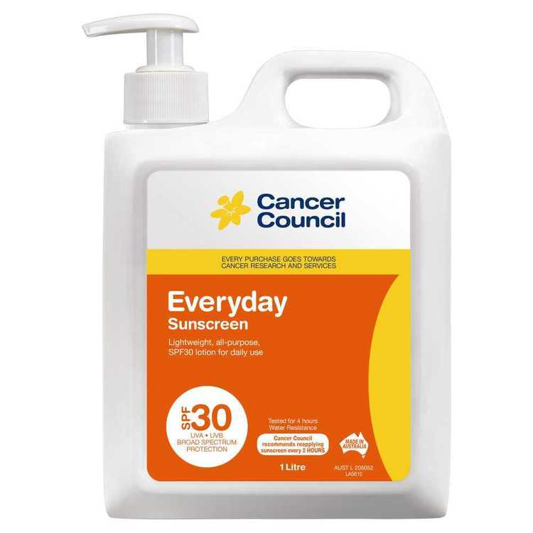 Cancer Council 1 L Everyday Pump Sunscreen 1 L