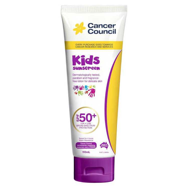 Cancer Council Kids SPF 50+ Suscreen 110 mL