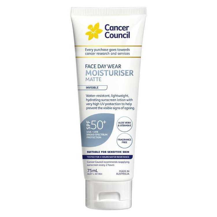 Cancer Council Face Day Wear SPF 50+ Sunscreen 75 mL