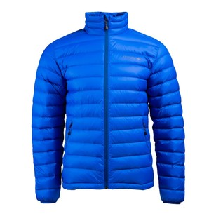 Mountain Designs Mens Advance 600 Down Jacket Cobalt