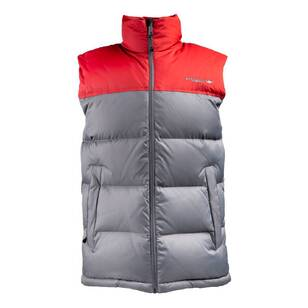 Mountain Designs Men's Resurge 700 Down Vest Iron & Red