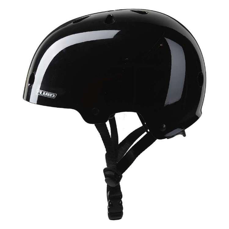 Fluid Kid's Skate Helmet With Sticker