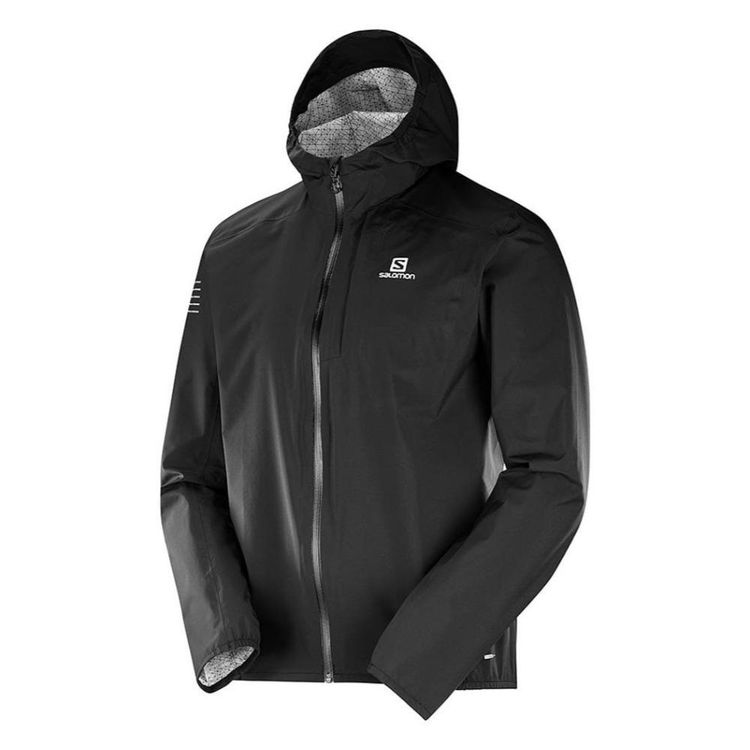 Salomon Men's Bonatti Waterproof Jacket Black