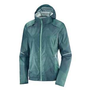 Salomon Women's Agile Wind Print Hood