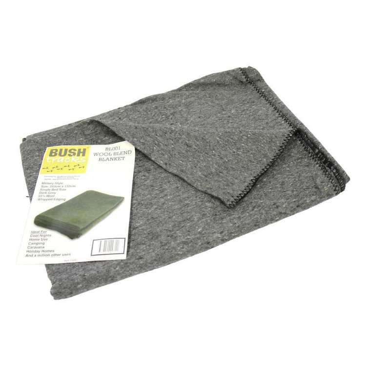 Bushtracks Army Wool Blanket