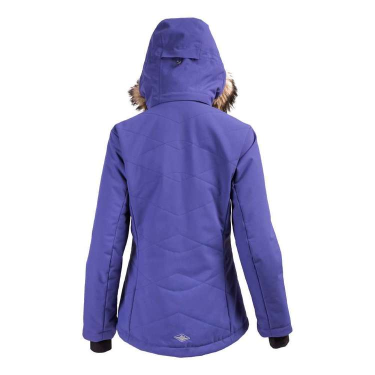 Mountain Designs Womens Frost Insulated Snow Jacket Skipper Blue