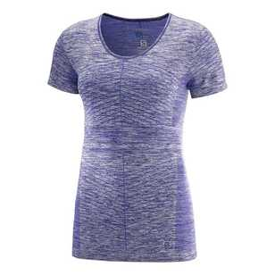Salomon Women's Elevate Move'On Short Sleeve Tee