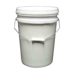 20 Litre White Bucket With Lid