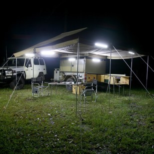 Big Red 6 Bar LED Camp Light Kit