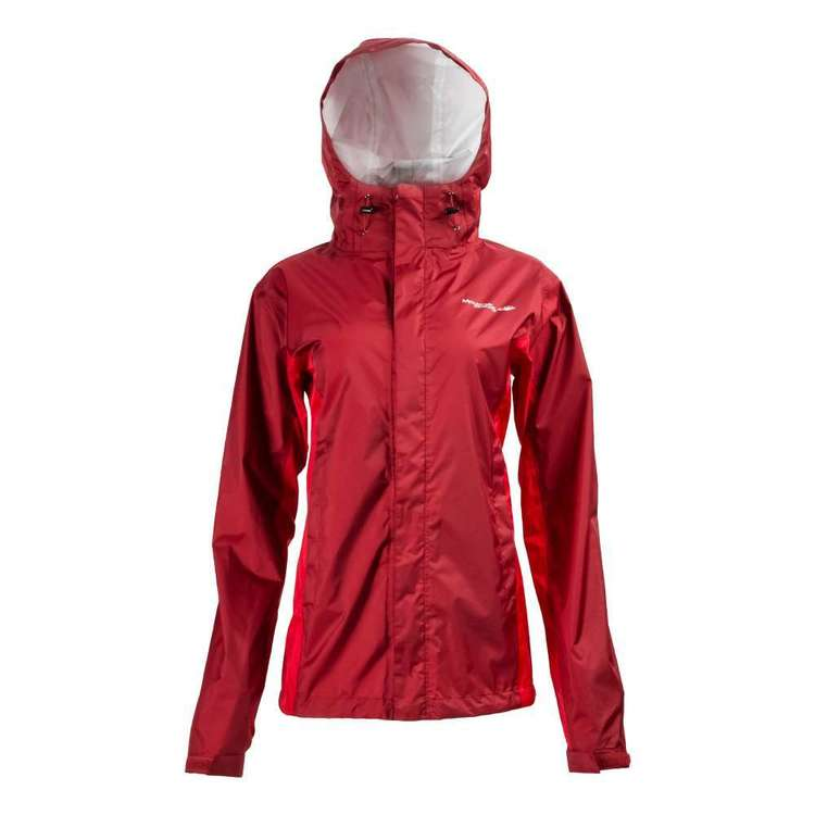 Mountain Designs Women's Ellenborough Rain Jacket Rhubarb & Red