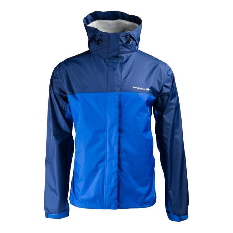 Mountain Designs Men's Wallaman Rain Jacket Navy & Blue