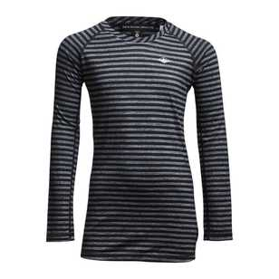 Mountain Designs Kids' Merino Blend Long Sleeve Stripe Top