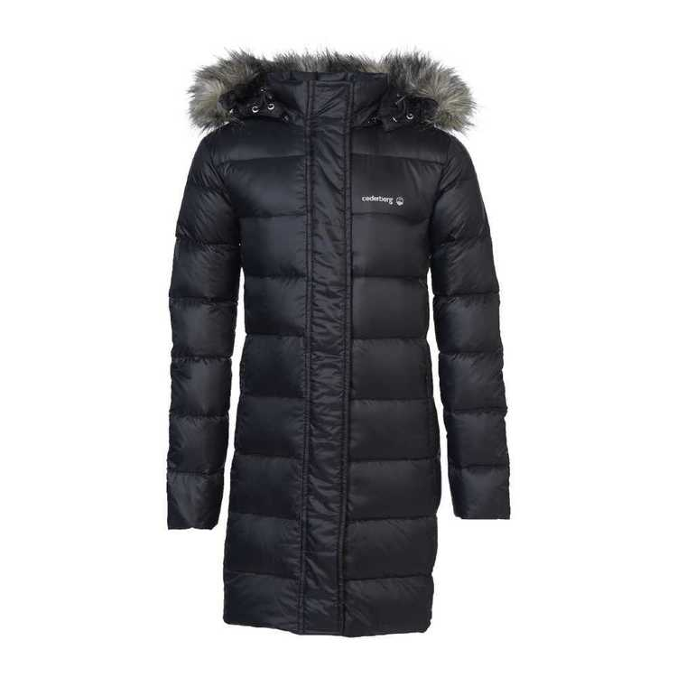 Cederberg Girls' Derwent Long Down Jacket