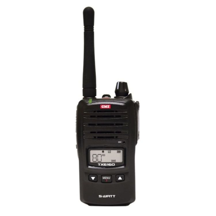 GME TX6160X 5 Watt UHF Handheld Radio