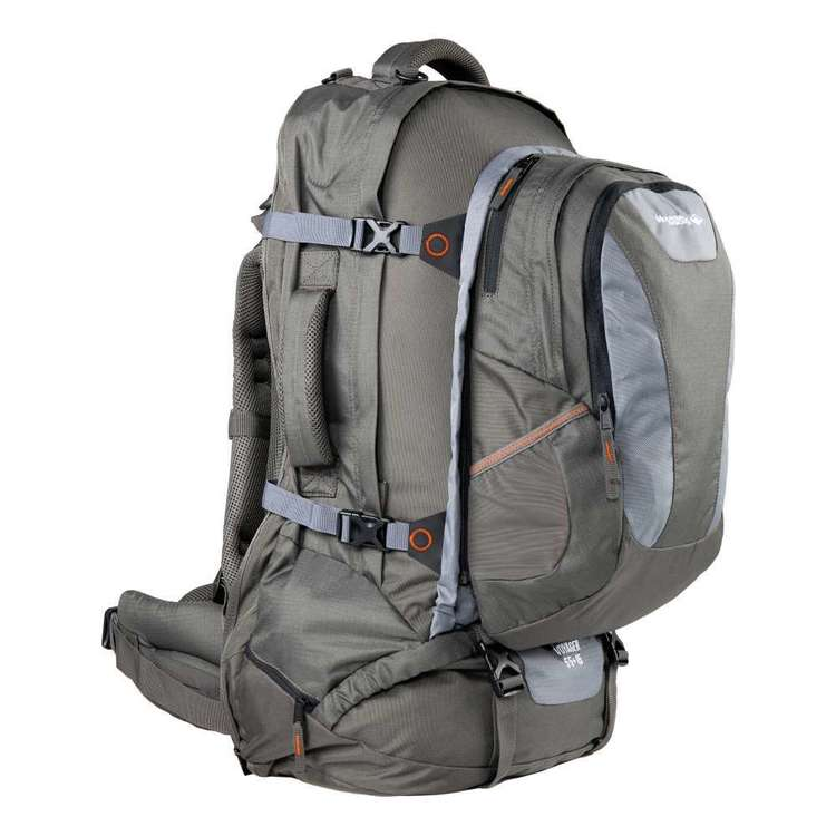 Mountain Designs Voyager 55 + 15L Travel Pack