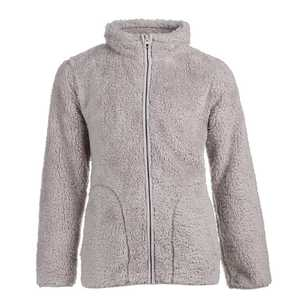 Cape Girls' Youth Sherpa Full Zip Top