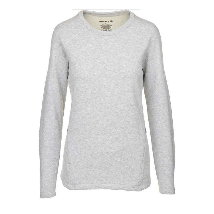 Cederberg Women's French Terry Crew Sweater