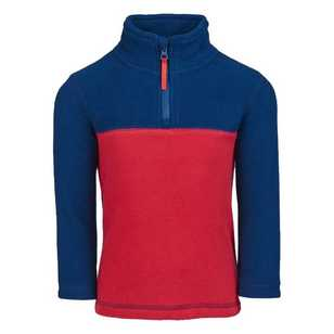 Cape Kid's Jack 1/4 Zip Fleece Top