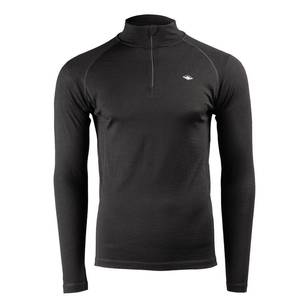 Mountain Designs Mens Merino Long sleeve Quarter Zip Top