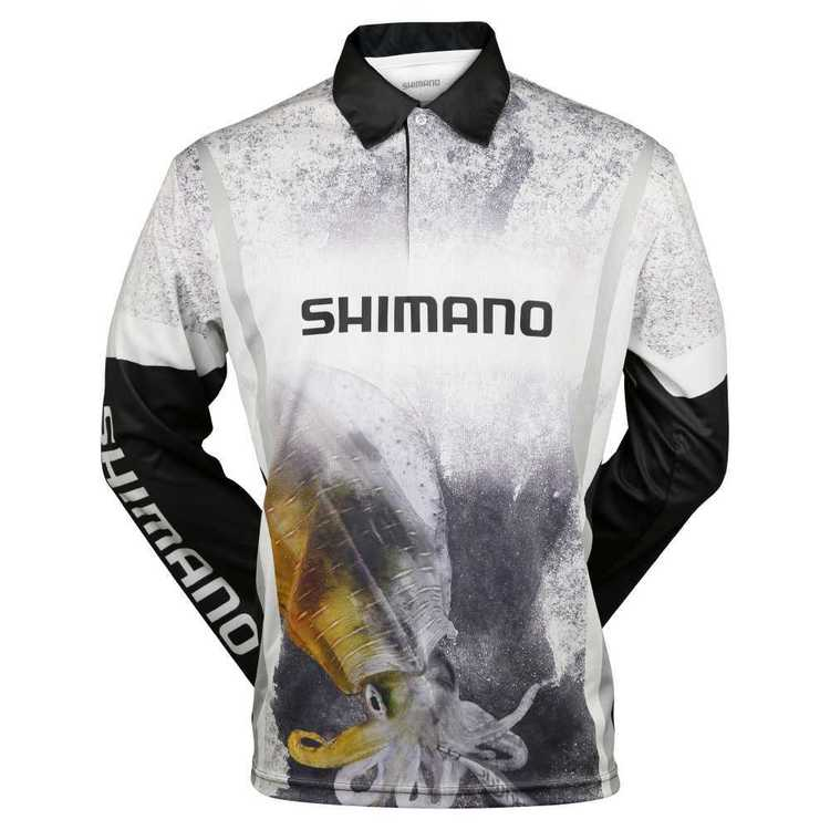 Shimano Sephia Squid Sublimated Fishing Shirt