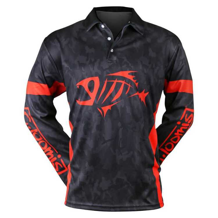 Shimano G.Loomis Black Camo Sublimated Shirt