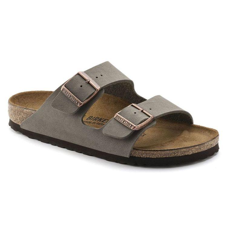 Birkenstock Men's Arizona Birko-Flor Nubuck Sandals