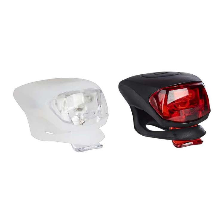 Fluid Silicone Bike Lights Front and Rear Set