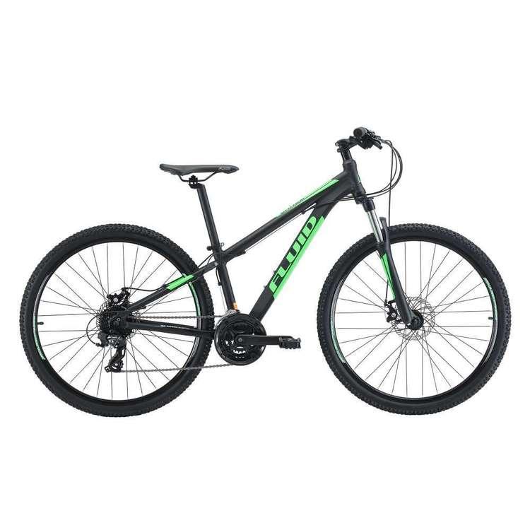 Fluid Shred Kid's Green Mountain Bike
