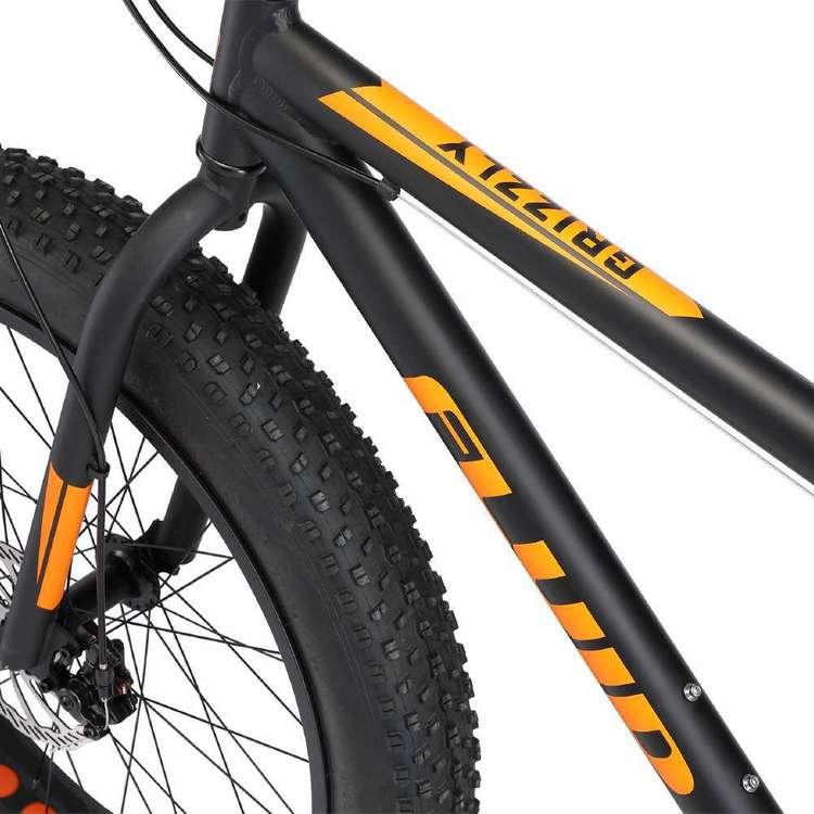 Fluid Grizzly Fat Bike Black