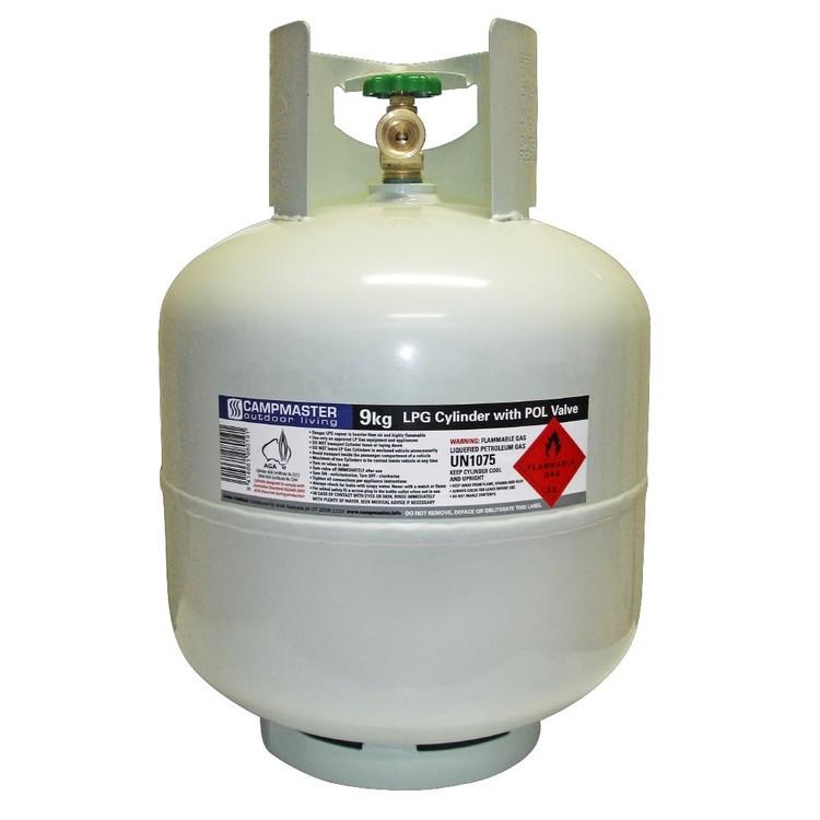 Campmaster 9 kg Gas Cylinder
