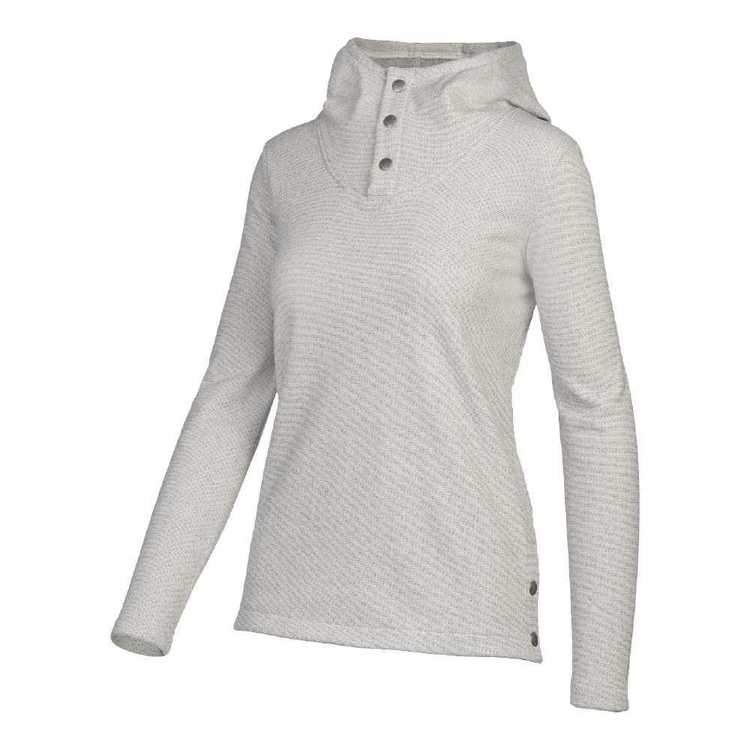 The North Face Women's Knit Stitch Fleece Pullover Wild Oat Heather