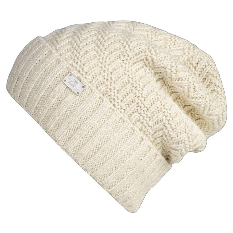The North Face Women's Reyka Beanie Vintage White Heather One Size Fits Most