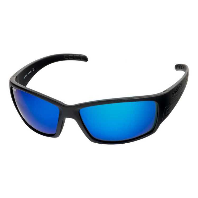 Spotters Chaos Sunglasses Matte Black & Ice