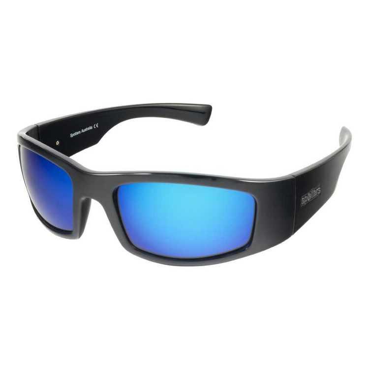 Spotters Coyote+ Sunglasses Gloss Black & Ice
